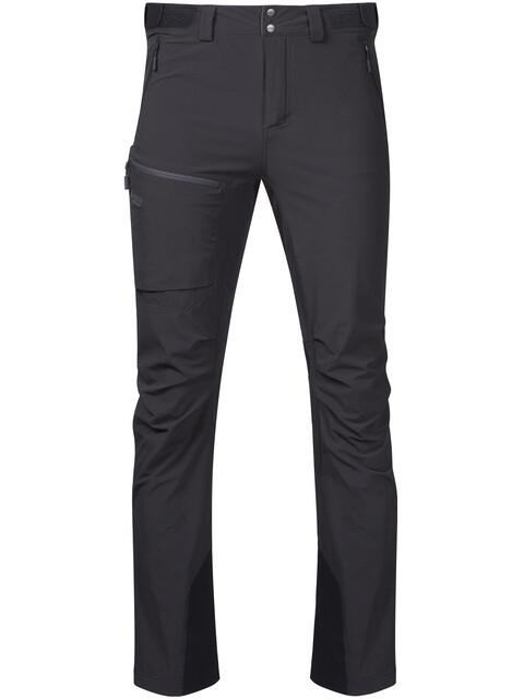 Bergans M's Breheimen Softshell Pants Solid Charcoal/Solid Dark Grey